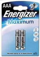 Батарейки ENERGIZER MAXIMUM  LR03 (AAА) FSB2